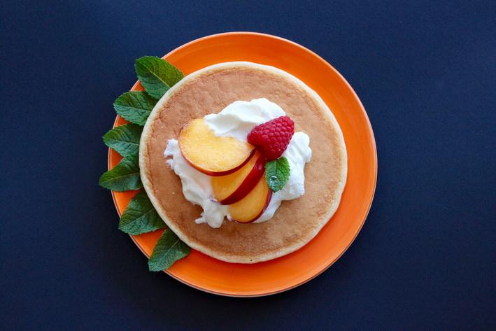 Americké lívance z řeckého jogurtu