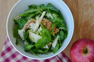 Tomův letní jablečný salát