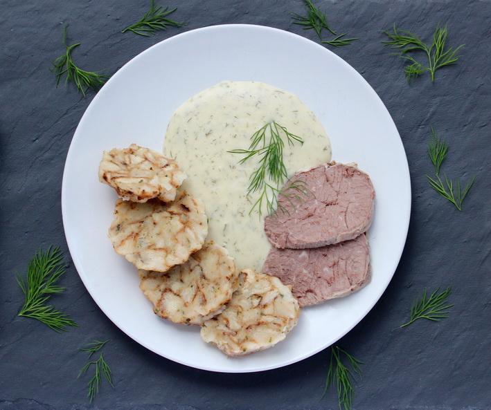 Traditional Czech Dill Creamy Sauce: Koprová omáčka