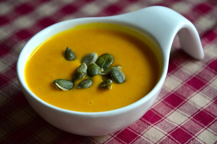 Hokaidó polévka, recept na skvělou dýňovou polévku