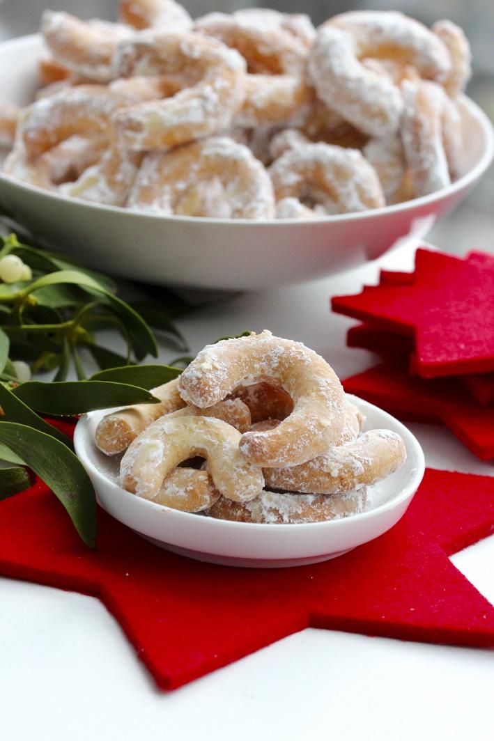 Jemné mandlové rohlíčky - české vánoční cukroví