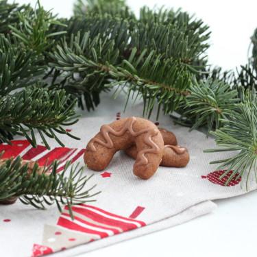 Klášterní rohlíčky - tradiční české vánoční cukroví