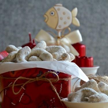 Vanilkové rohlíčky - české vánoční cukroví