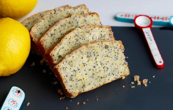 Makovo-citronový chlebíček podle Dity P.