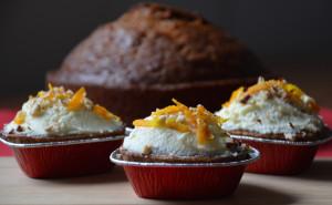 mrkvový dortík a nebo taky cupcakes