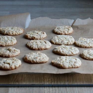 Mandlovo-limetkové sušenky bez vajíček