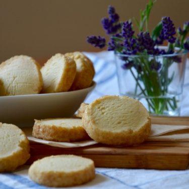 Citronové máslové sušenky neboli shortbread