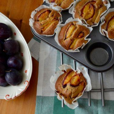 Muffiny se švestkami
