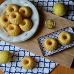 Citronové bábovičky s polevou